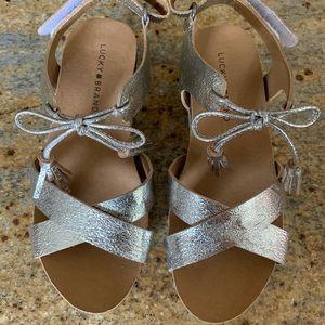 Girls' Lucky Brand Espadrille Sandals Size 1